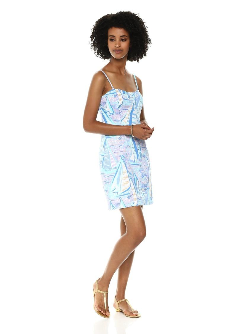 a7292b5d85c3f5 Lilly Pulitzer Women's Shelli Stretch Dress Light Lilac Verbena Aboat time