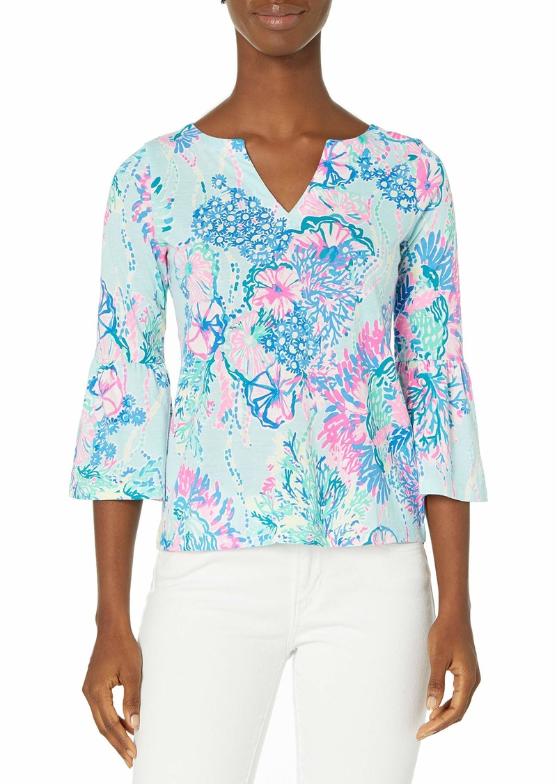 Lilly Pulitzer Women's Tosha Printed Top  S
