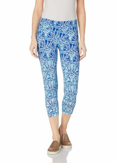 Lilly Pulitzer Women's UPF + Weekender Crop Legging Whisper Blue one of a Kind S
