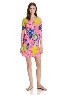 Lilly Pulitzer Women's UPF 50+ Joyce Dress 999:MULTIRI4 :Under The Canopy XS