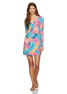 Lilly Pulitzer Women's UPF 50+ Rylie Cover-up Dress Multi goombay Smashed XS
