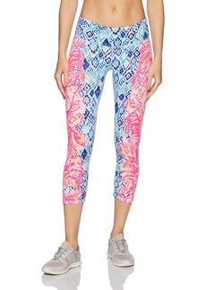 Lilly Pulitzer Women's UPF 50+ Weekender Cropped Legging  XS