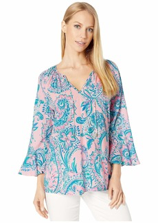 Lilly Pulitzer Women's WILLA Flounce Sleeve TOP  M