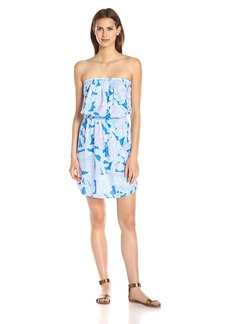 Lilly Pulitzer Women's Windsor Dress Bay Blue into The Deep