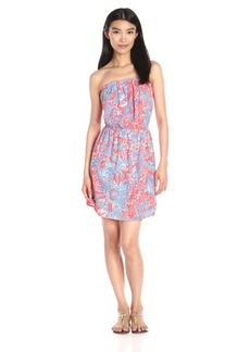 Lilly Pulitzer Women's Windsor Dress NM Pink Sun Ray Summer Siren