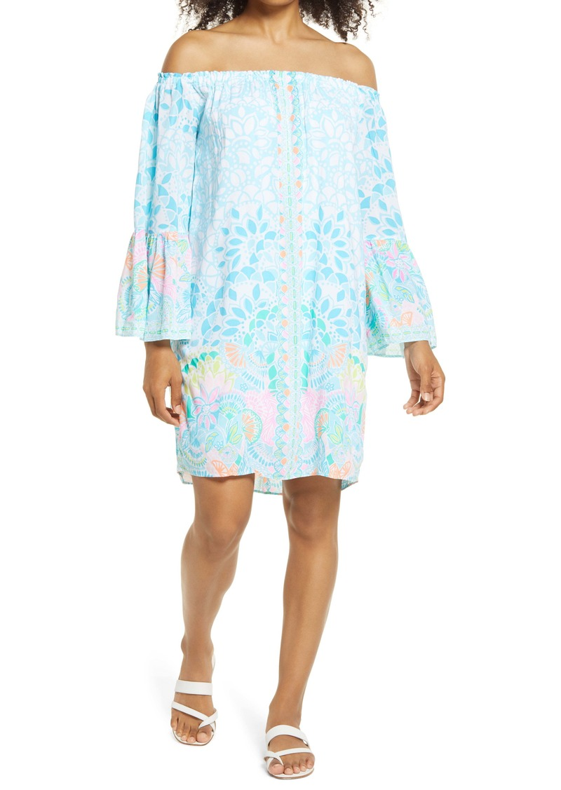 Lilly Pulitzer Lilly Pullitzer® Nevie Off the Shoulder Dress