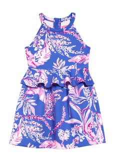 Lilly Pulitzer Lilly Pultizer® Caesara Dress (Toddler Girls, Little Girls & Big Girls)