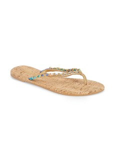 Lilly Pulitzer Lily Pulitzer® Naples Chain Trimmed Flip Flop (Women)