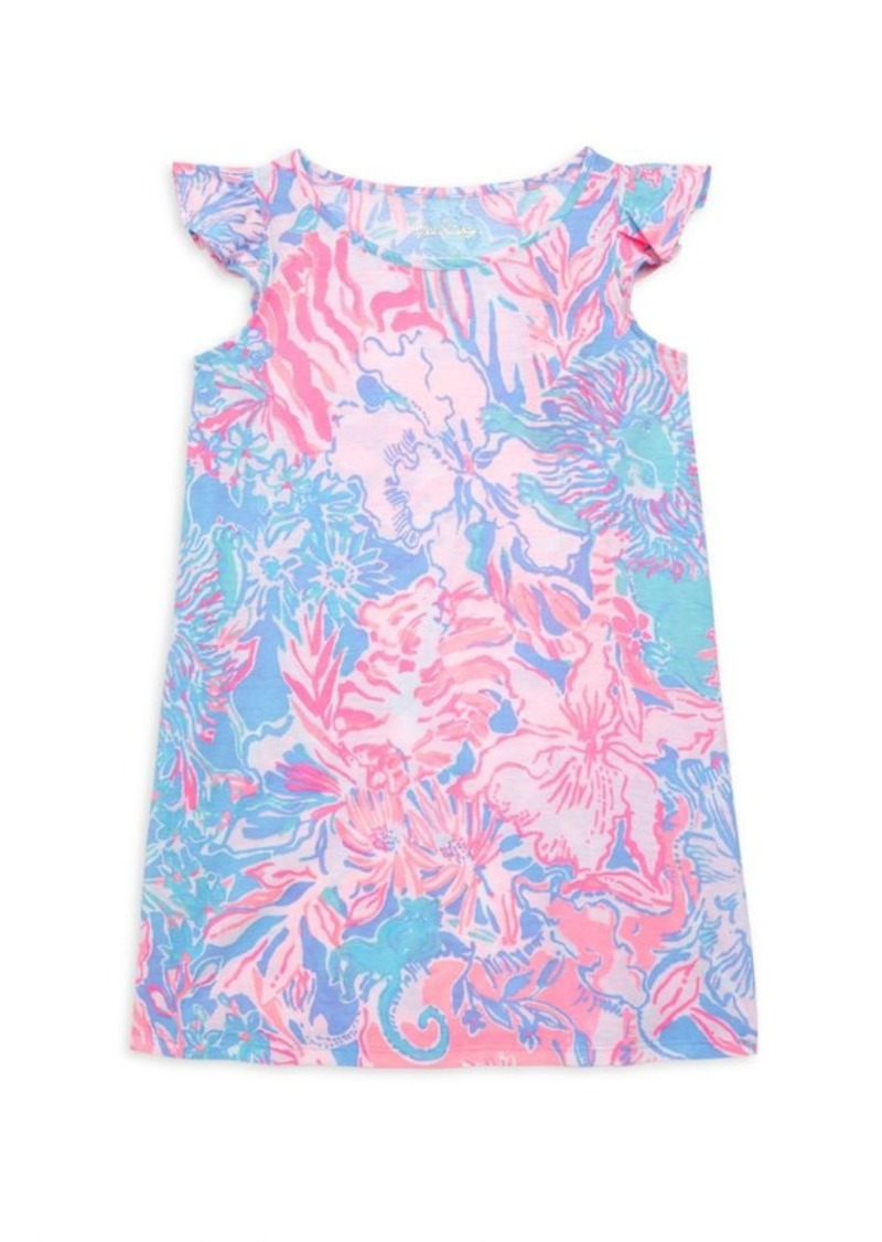 Lilly Pulitzer Little Girl's & Girl's Ella Floral Dress