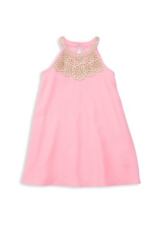Lilly Pulitzer Little Girl's & Girl's Embroidered Shift Dress