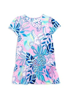 Lilly Pulitzer Little Girl's & Girl's Emina Ruffle Printed Dress