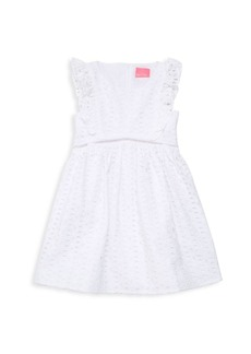 Lilly Pulitzer Little Girl's & Girl's Eyelet Dress