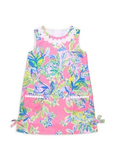 Lilly Pulitzer Little Girl's & Girl's Floral Classic Shift Dress