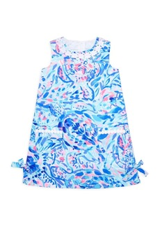 Lilly Pulitzer Little Girl's & Girl's Floral Shift Dress