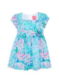 Lilly Pulitzer Little Girl's & Girl's Katrina Mini Floral A-Line Dress