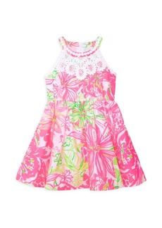 Lilly Pulitzer Little Girl's & Girl's Kinley Floral Dress