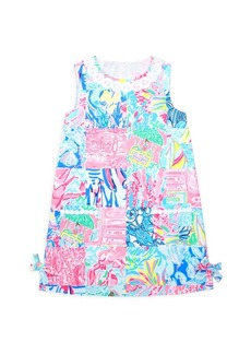 Lilly Pulitzer Little Girl's & Girl's Lily Print Shift Dress