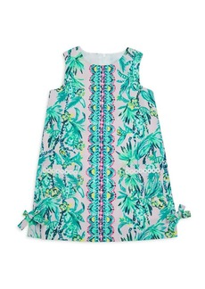 Lilly Pulitzer Little Girl's & Girl's Litte Lilly Print Shift Dress