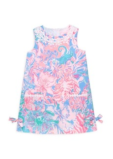 Lilly Pulitzer Little Girl's & Girl's Little Lily Classic Shift Dress