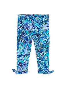 Lilly Pulitzer Little Girl's & Girl's Maia Floral Leggings