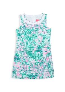 Lilly Pulitzer Little Girl's & Girl's Mila Floral Sleeveless Shift Dress