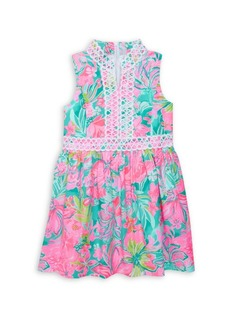 Lilly Pulitzer Little Girl's & Girl's Mini Franci Floral Dress