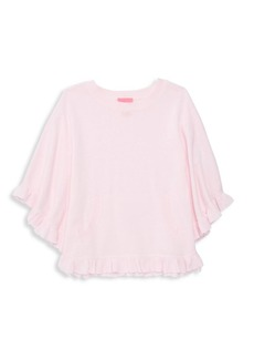 Lilly Pulitzer Little Girl's & Girl's Ruffle Poncho