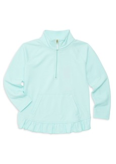 Lilly Pulitzer Little Girl's & Girl's Ruffle Trim Popover Top