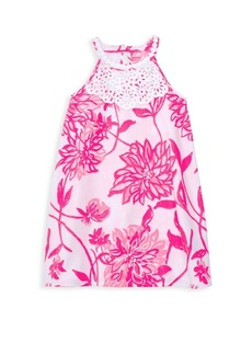 Lilly Pulitzer Little Girl's & Girl's Sleeveless Floral Dress
