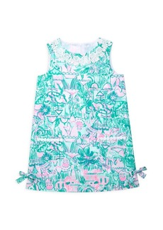 Lilly Pulitzer Little Girl's & Girl's Tropical Print Shift Dress