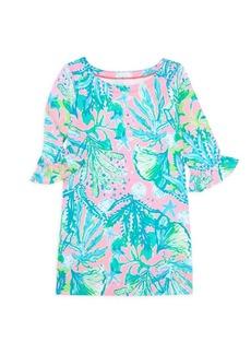 Lilly Pulitzer Little Girl's & Girl's UPF 50+ Mini Sundress