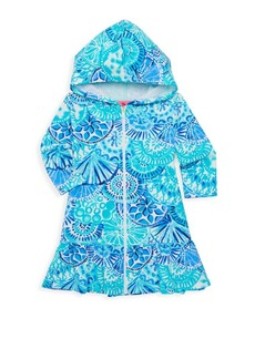 Lilly Pulitzer Little Girl's & Girl's UPF 50+ Stretch Cotton Coverup