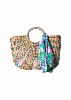 Lilly Pulitzer Marrakech Straw Tote