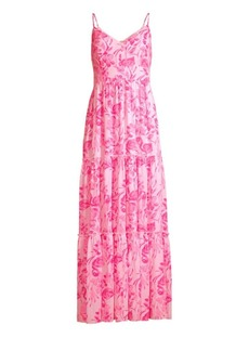 Lilly Pulitzer Melody Floral Maxi Dress