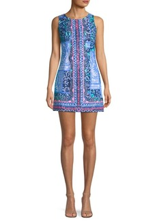 Lilly Pulitzer Mila Stretch Print Mini Dress