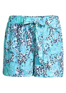 Lilly Pulitzer Mylee Tie-Front Printed Shorts
