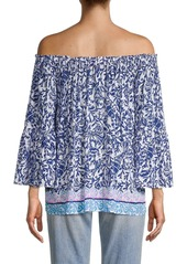 Lilly Pulitzer Nevie Off-The-Shoulder Top