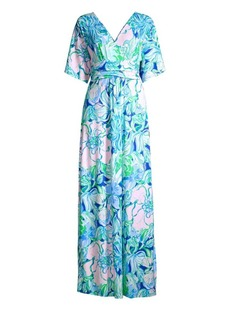Lilly Pulitzer Pargi Floral Maxi Dress