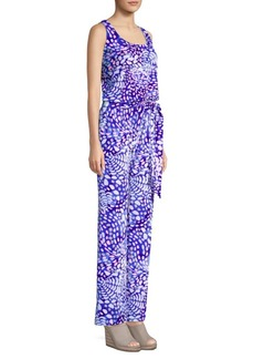 Lilly Pulitzer Printed Sleeveless Jumpsuit