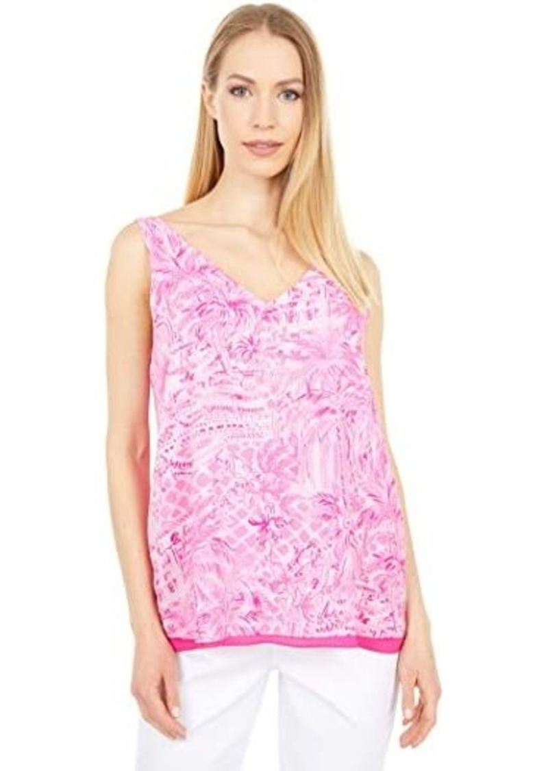 Lilly Pulitzer Reversible Florin Sleeveless V-Neck