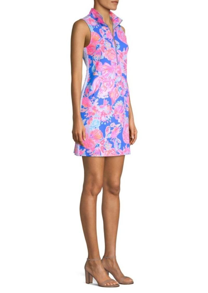 fdd00b2078d3fc Lilly Pulitzer Skipper Sleeveless Collared Shift Dress