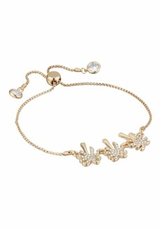 Lilly Pulitzer Sparkling Palm Trees Pull-Tie Bracelet