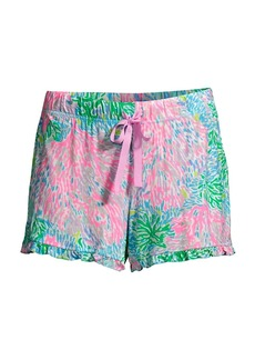 Lilly Pulitzer Stargazer Print Pajama Shorts