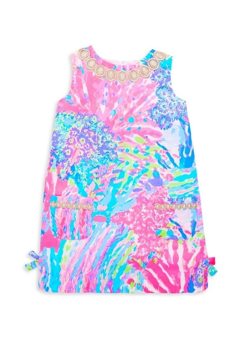 af82b93df Lilly Pulitzer Toddler's, Little Girl's & Girl's Floral Cotton Dress ...