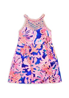 Lilly Pulitzer Little Girl's & Girl's Kinley Fish Dress