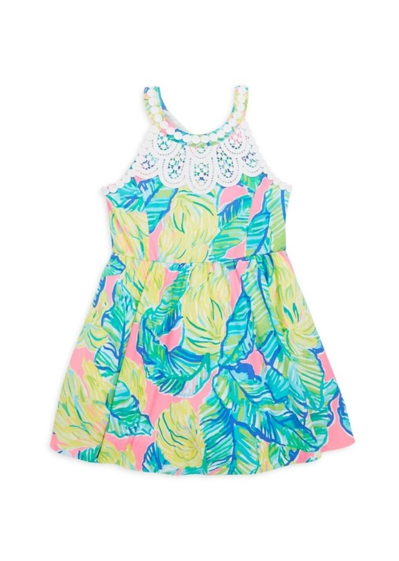 7363e61008e8 Lilly Pulitzer Little Girl s   Girl s Little Kinley Fit- -Flare Dress