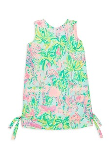 Lilly Pulitzer Little Girl's & Girl's Printed Classic Cotton Shift Dress