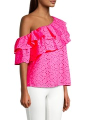Lilly Pulitzer Trixie One-Shoulder Top