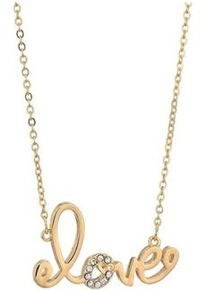 Lilly Pulitzer We Want You Amore Necklace