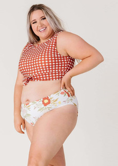 Lime Ricki Chloe Mid-Waist Bottom Swimwear Size Large